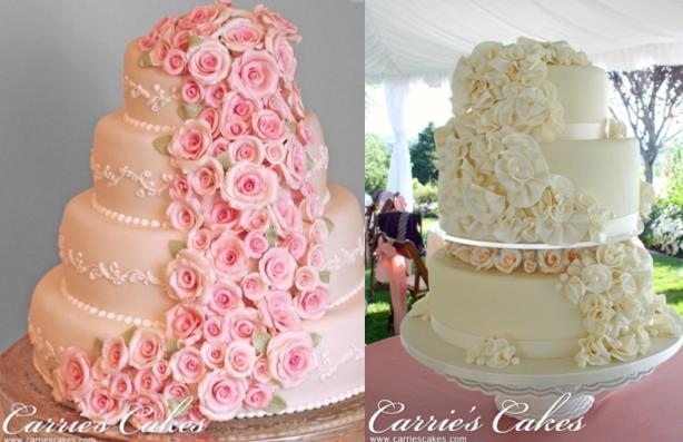 WEDDING CAKE: IDEE PER UNA TORTA NUZIALE FLOREALE - Something Tiffany ...