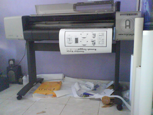 jasa cetak print gambar kerja