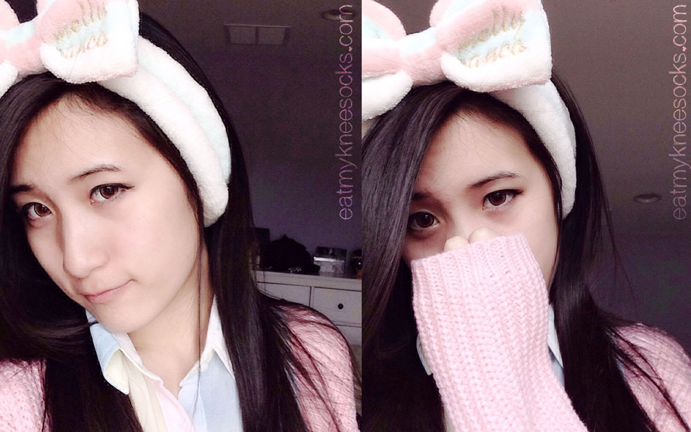 More photos of the soft fleece bowknot headband from Love Shoppingholics.
