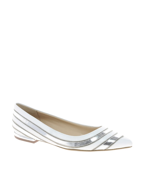 dune pointed flat shoes