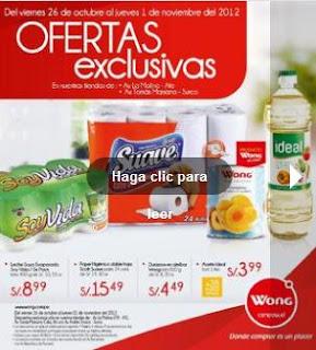 catalogo wong ofertas 26-10-12
