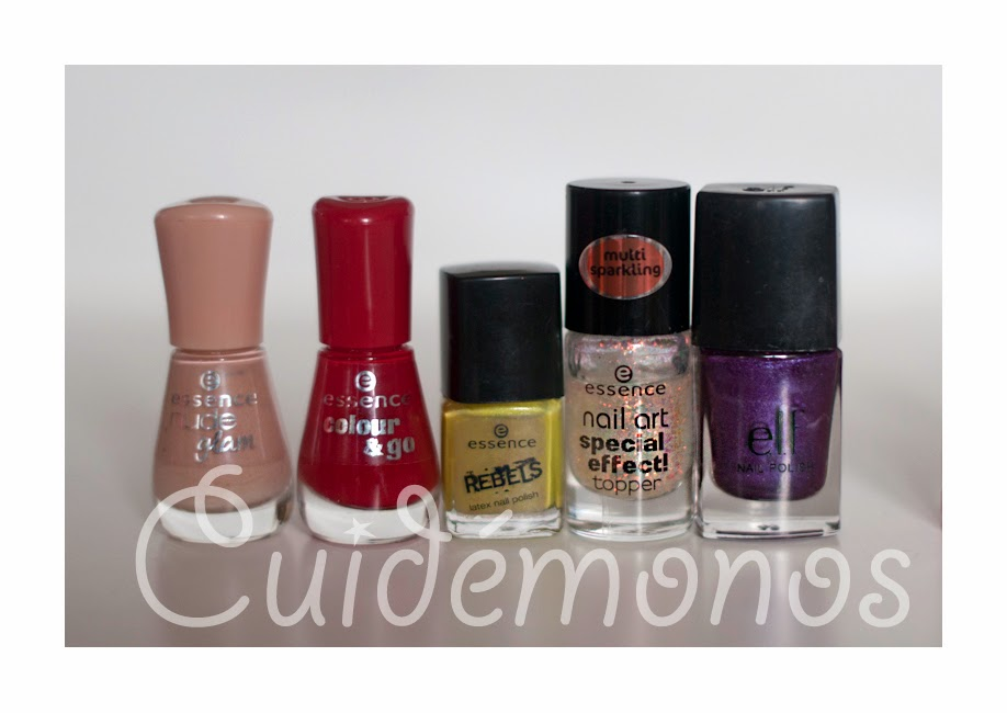 Lacas de uñas essence Elf