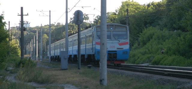 электричка Киев