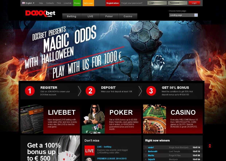 Doxxbet Screen