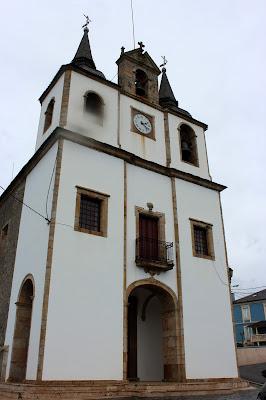 Iglesia de Santa Marina en Navia