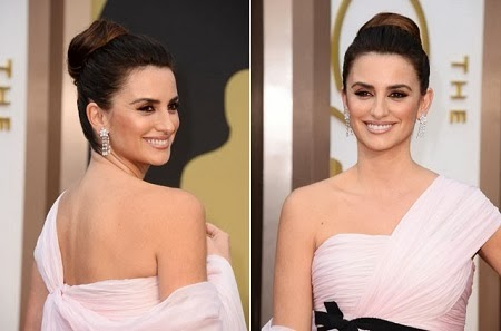 Los 10 Mejores Peinados del Oscar 2014