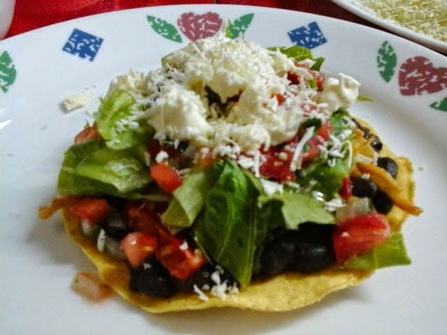 Vanessacullagf tostadas mexicanas vegetarianas - Comidas vegetarianas ricas ...