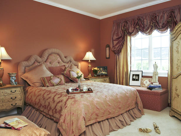 Romantic Bedroom Colors Fascinating With Romantic Master Bedroom Designs Image