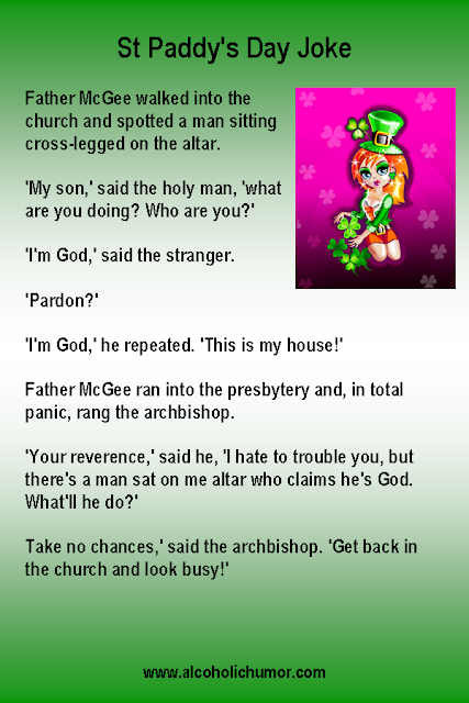 Irish Priest and God Joke