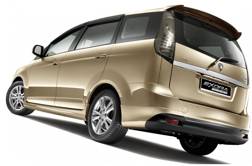 Proton Exora Bold Premium Rear Body Design
