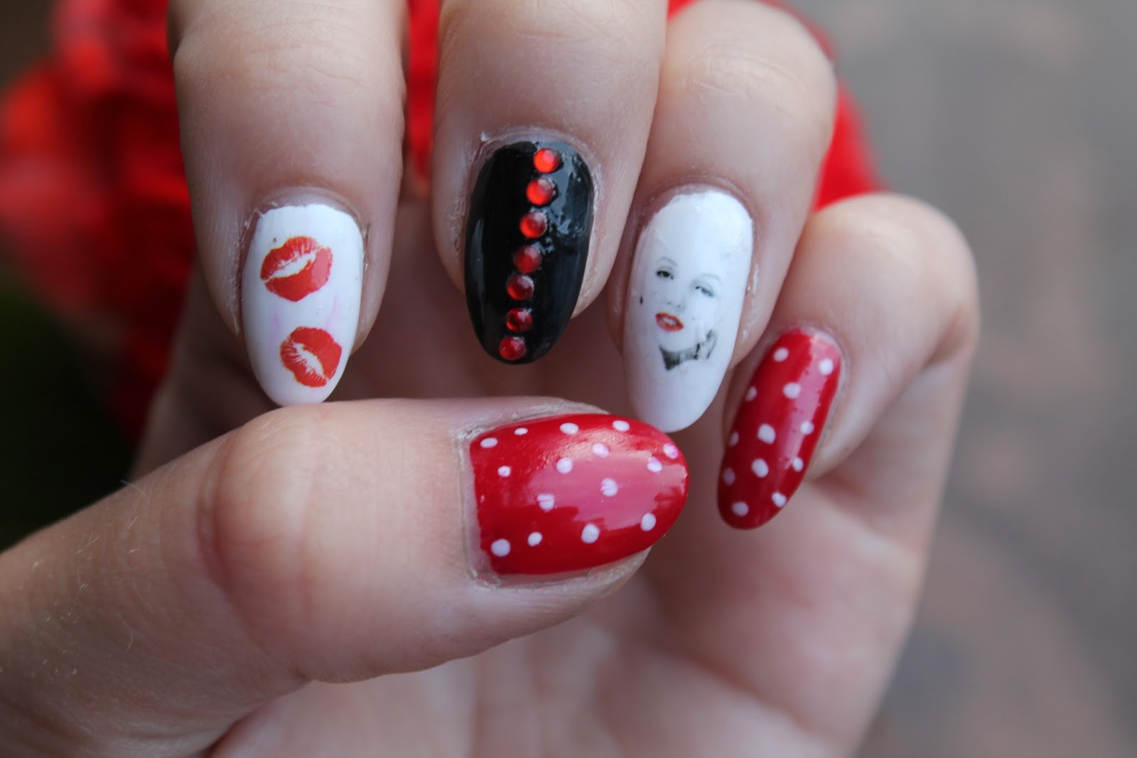 Mani Monday: Happy Birthday Marilyn Monroe - Jersey Girl, Texan Heart