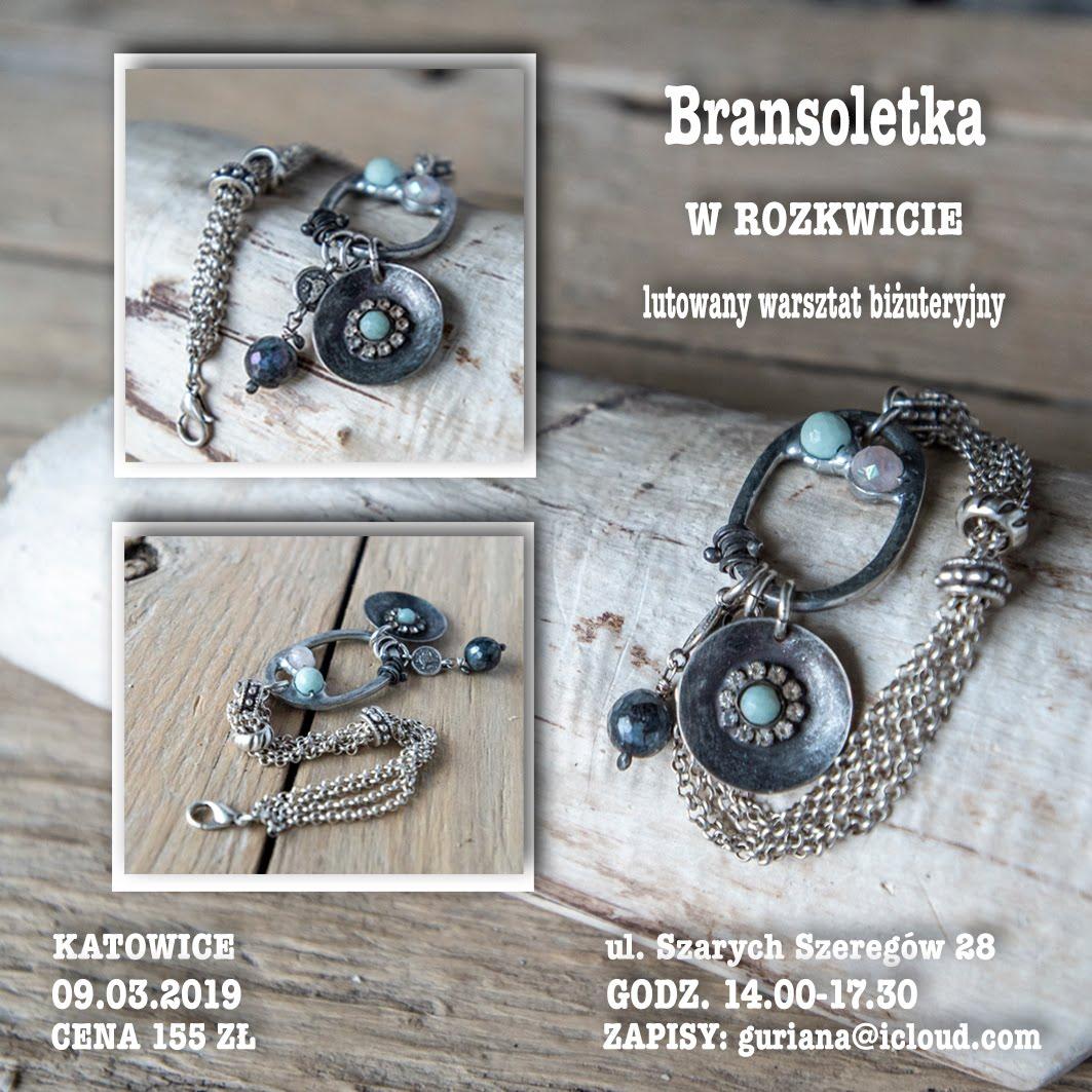 Katowice - Bransoletka W rozkwicie