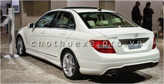 Cho thuê xe Mercedes C250 đời mới nhất 1