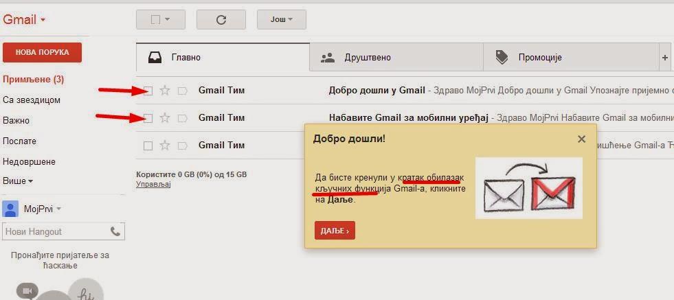 Kako da otvorim Gmail  Google e-mail