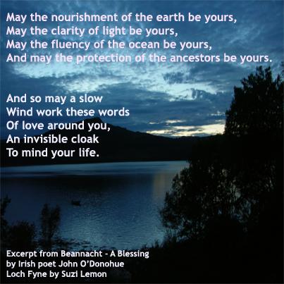 Beannacht a blessing