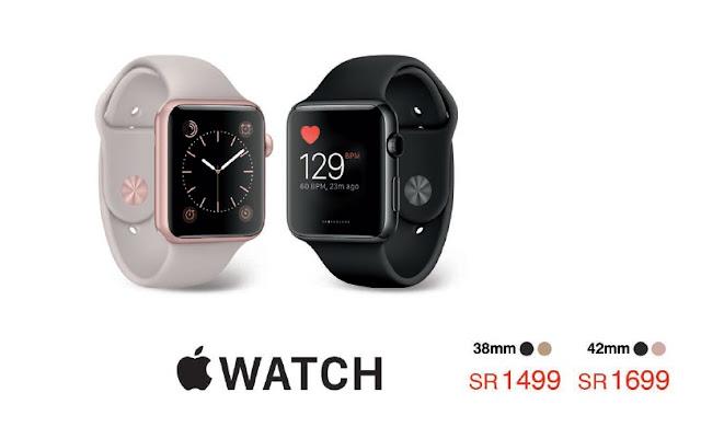 سعر ساعة ابل الذكية Apple Smart Watch فى عروض مكتبة جرير اليوم