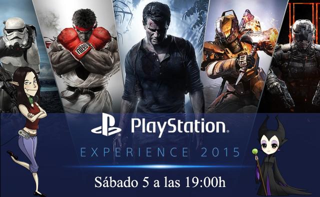 PlayStation experience 2015 Estela 3D Marigones