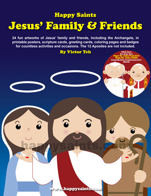 Happy Saints Jesus Family And Friends EBook