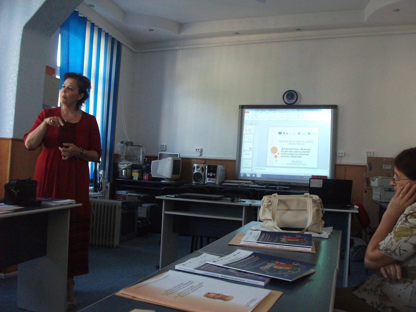Aspecte de la cursurile de Istorie Recentă a României, CCD Neamţ, 1-6 septembrie 2015..