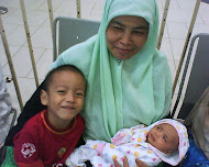 my mum n her grandson