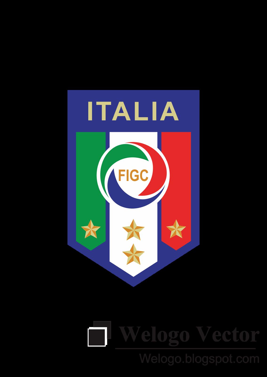 Scudetto Italia FIGC Logo