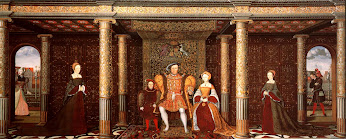 Henry VIII & his family