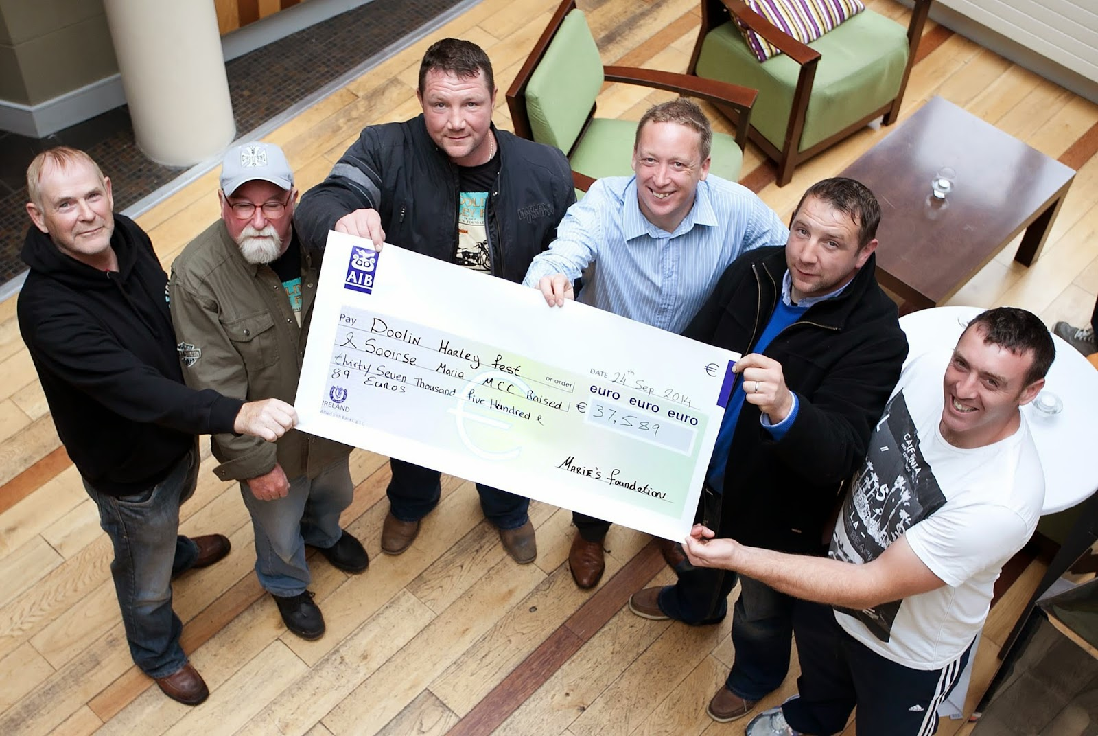 Doolin Harley Festival raises over 37K euro for cancer charities