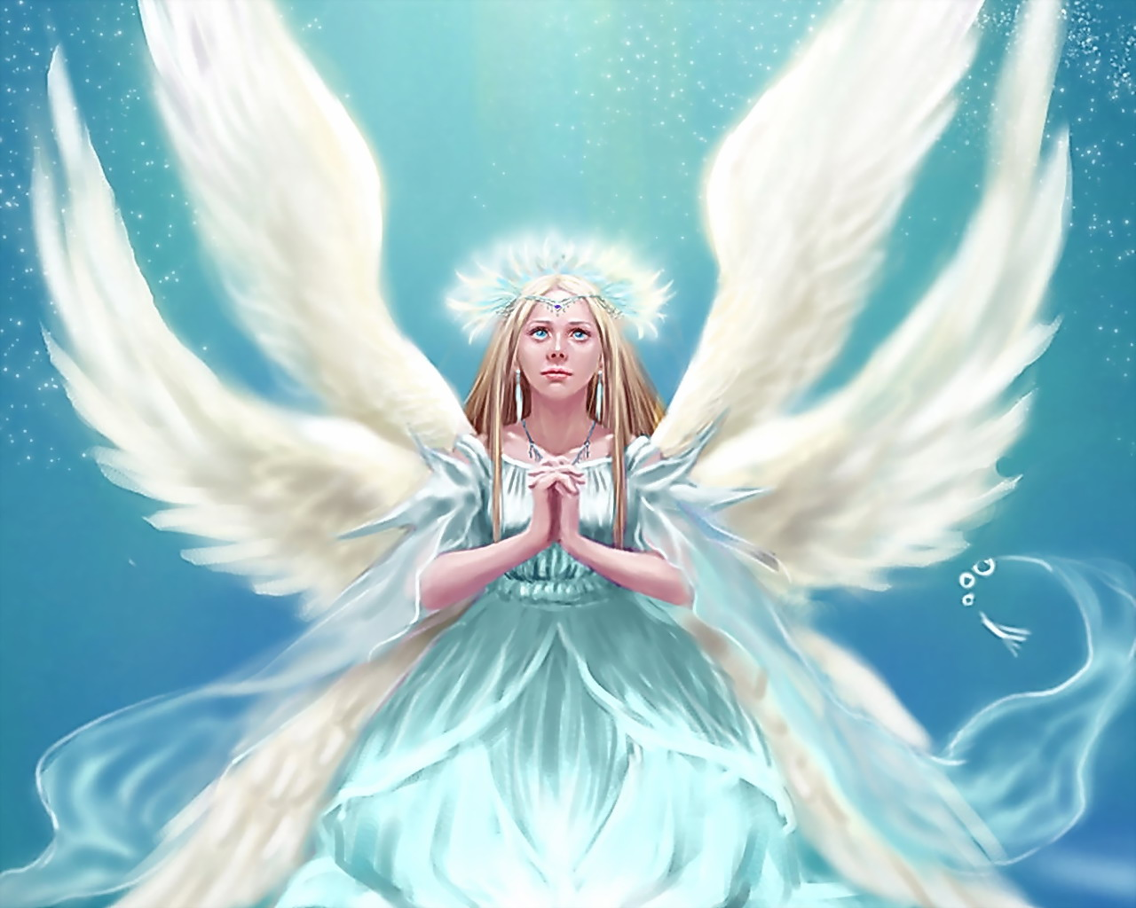 wallpapers world: animated angel wallpapers for desktop