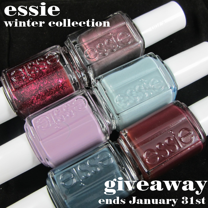 http://polishthis.blogspot.fi/2014/01/essie-winter-2013-collection-giveaway.html