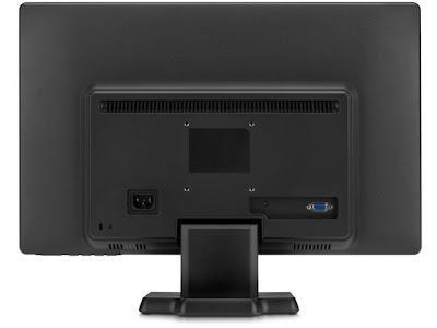 HP W2071d - Back