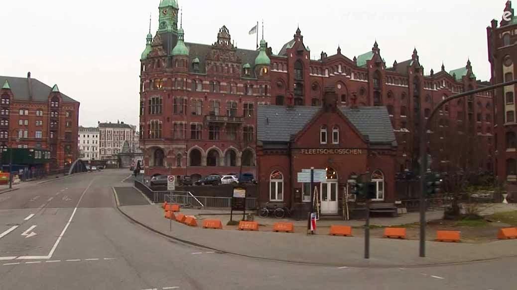 Hamburg Speicherstadt - city of warehouses
