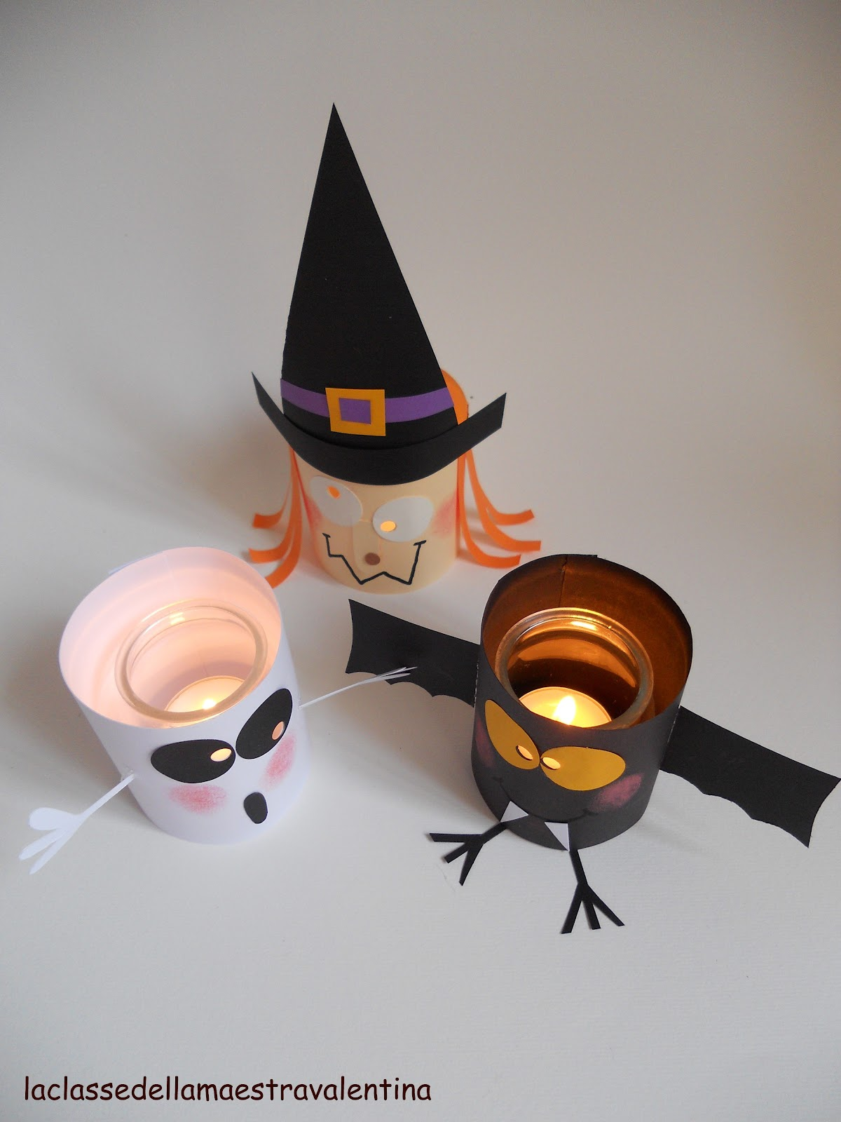 La classe della maestra valentina lanternine per la notte for La maestra valentina