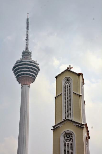 Modern buildings Kuala Lumpur