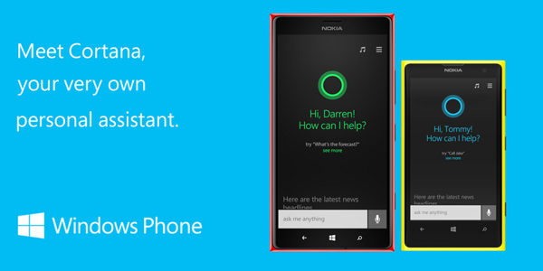Cortana on Windows Phone 8.1
