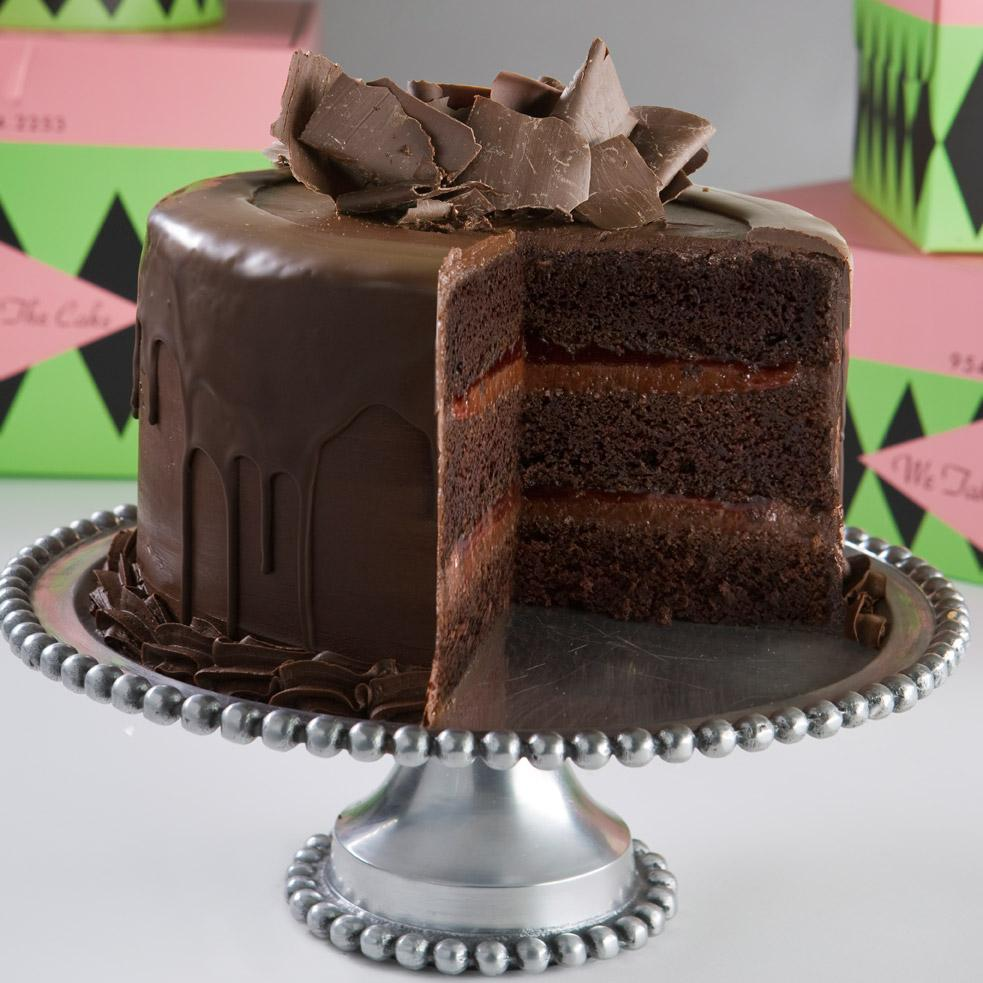 Simple Living: Amazing Chocolate Raspberry Layer Cake