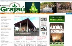 Site da Prefeitura de Grajaú
