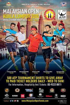 ATP 250 World Tour 2015 Malaysia