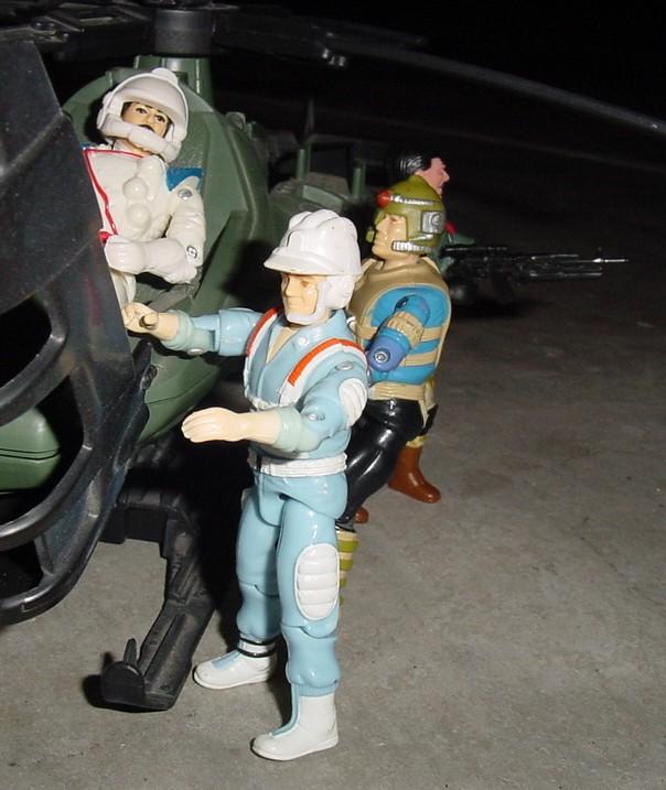 1987 Hardtop, 1994 Spaceshot, 1987 Knockdown, Razonblade