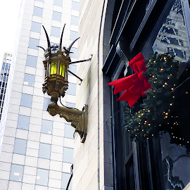 The Drake Hotel dresses up for the holidays.