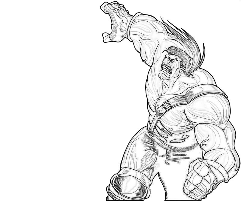 haggar-strongman-coloring-pages