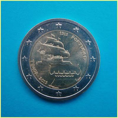 2 Euros Portugal Timor Oriental