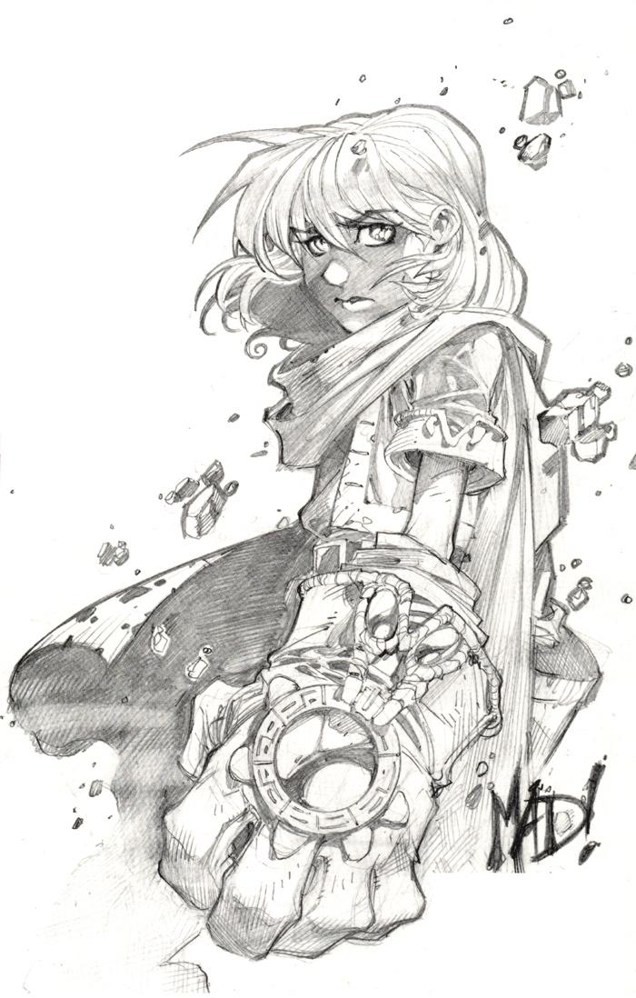 A Wolf Illustrations Blog Joe Madureira Sketchbook