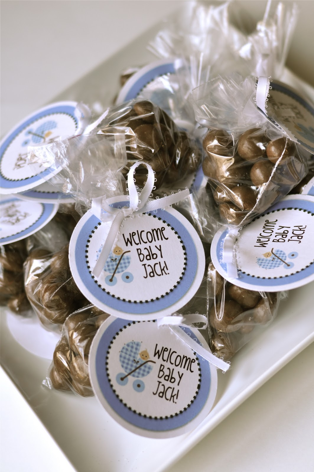 tutorial easy baby shower favors creative juice
