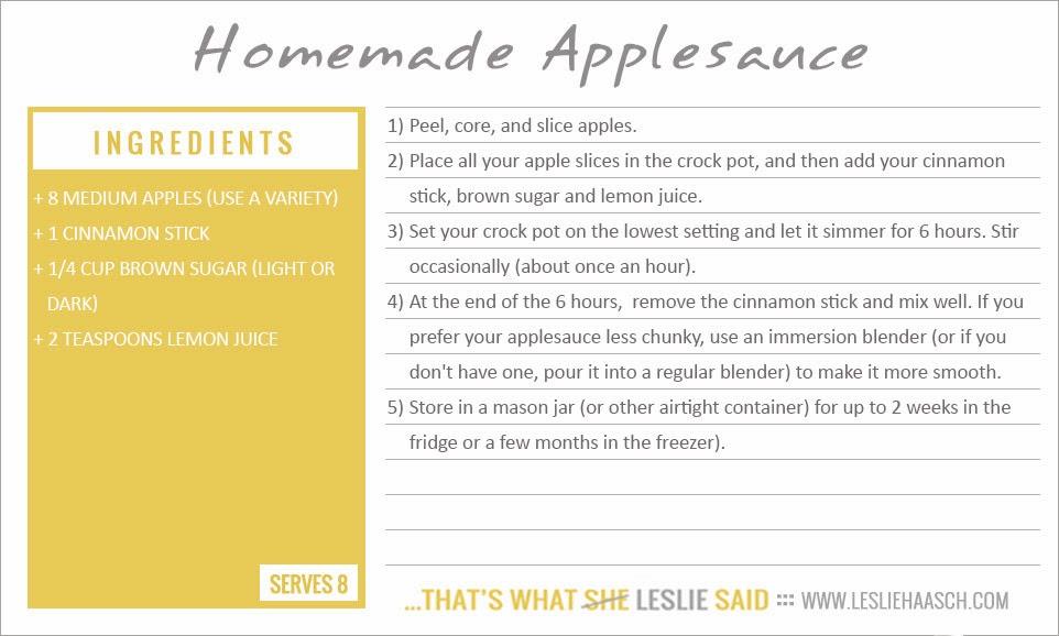 homemade recipe cards