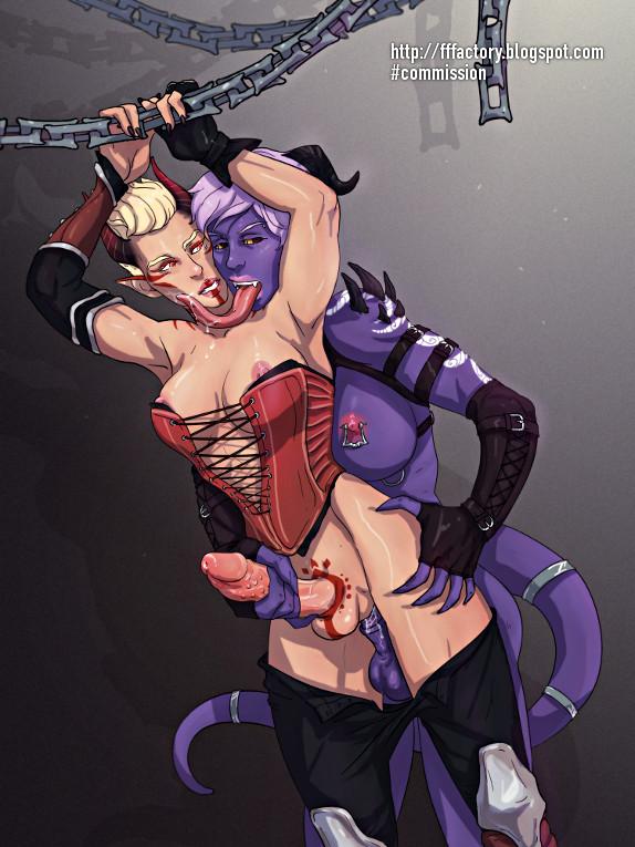 gay monster dick bulges