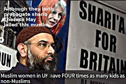 Chiudary and May both want more sharia - so what about Brits?