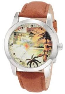 tommy bahama men's hula girl theme watch