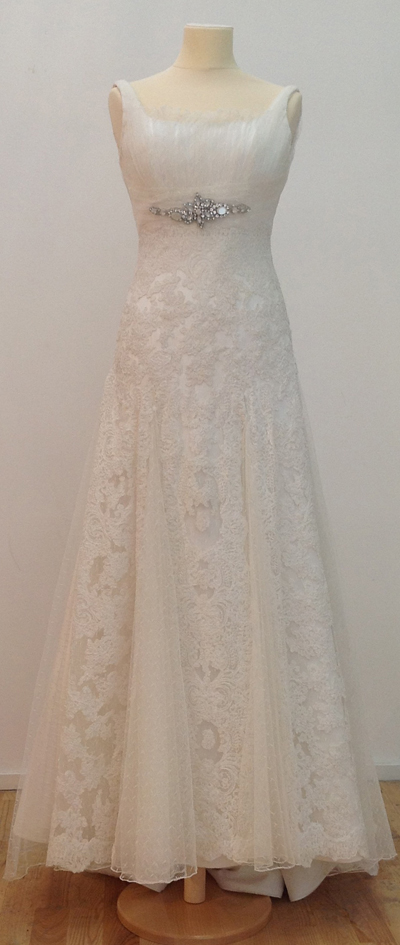 vestido novia resto stock