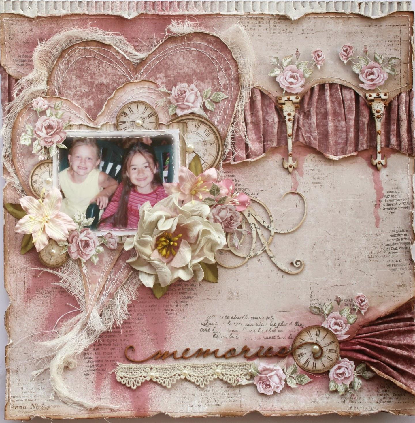 How to scrapbook memories - Memories Maja Design Scrapbook Diaries Kit Video Tutorial