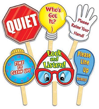 Mrs. Jackson's Class Website Blog: August 2011 Quiet Signal For Teachers